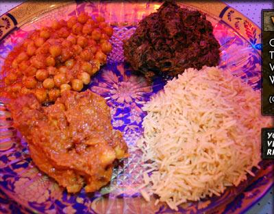 V-2 Vegetarian Rice Combo