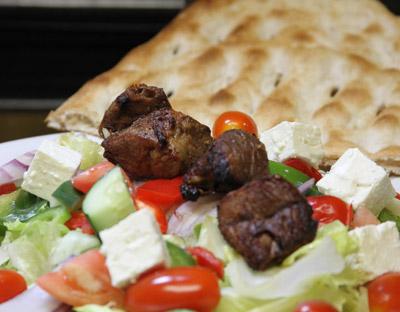 S-6 Beef Kabob Salad